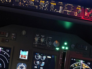 Simulatorflug A320